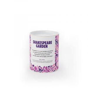 Shakespeare Garden in a Can