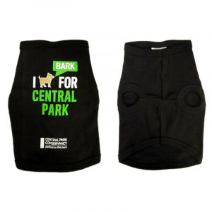 This 100% cotton Pet Tee is black, with white and lime green print of