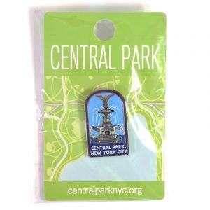 Bethesda Fountain Enamel Pin