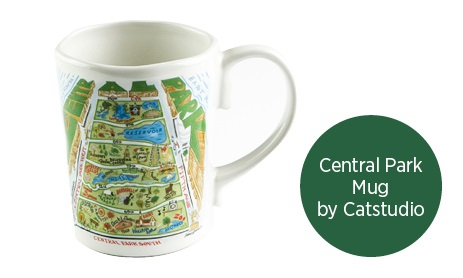 Central Park Mug by Catstudio