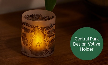 Central Park Design Tealight Holder