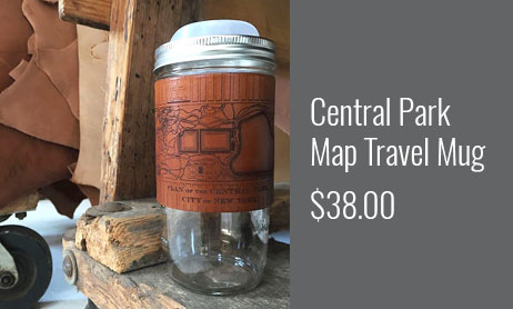 Central Park Map Travel Mug 24oz